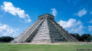 The Pyramid at Chichén Itzá