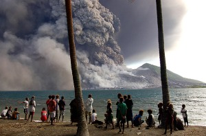 Tavurvur, Papua New Guinea